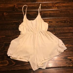 Dresses & Skirts - Cream Romper